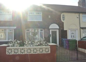 Thumbnail 3 bed terraced house to rent in Broadoak Road, Liverpool