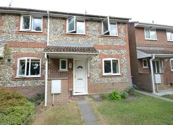 Thumbnail 3 bed semi-detached house to rent in Netherhouse Moor, Church Crookham, Fleet