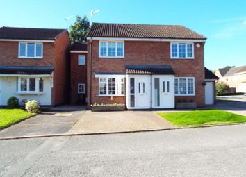 Thumbnail 3 bed semi-detached house for sale in Bickley Close, Hough, Crewe, Cheshire