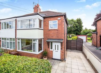 Thumbnail 3 bed semi-detached house for sale in Grange Park Road, Leeds