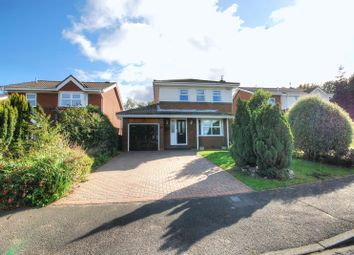 Thumbnail 4 bed detached house for sale in Merley Gate, Morpeth
