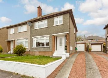 Thumbnail 3 bed semi-detached house for sale in Credon Gardens, Burnside, Glasgow, South Lanarkshire