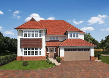 Thumbnail 4 bedroom detached house for sale in Woodford Garden Village, Chester Road, Woodford, Cheshire