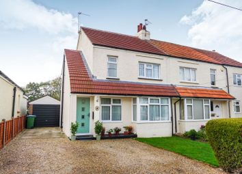 Thumbnail 3 bed semi-detached house for sale in Manser Road, Arundel