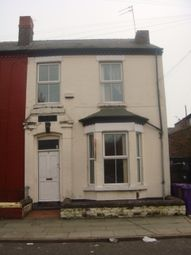 Thumbnail 3 bedroom terraced house to rent in Cranborne Road, Wavertree