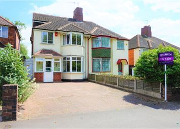 Thumbnail 4 bed semi-detached house for sale in Kingstanding Road, Kingstanding, Birmingham