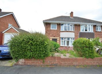 Thumbnail 3 bed semi-detached house for sale in Northumberland Road, Wigston