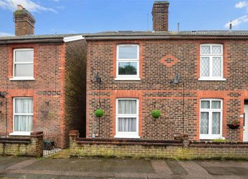 Thumbnail 3 bed end terrace house for sale in Charlesfield Road, Horley, Surrey