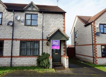 Thumbnail 3 bed semi-detached house for sale in Highridge Close, Doncaster