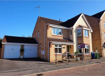 Thumbnail 4 bed detached house for sale in Amethyst Gardens, Mansfield