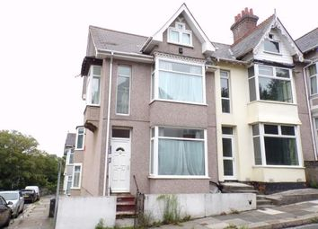 Thumbnail 6 bed end terrace house for sale in Mutley, Plymouth, Devon