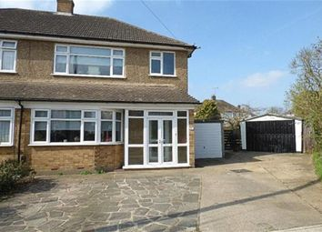 Thumbnail 3 bed semi-detached house for sale in Tyne Close, Upminster