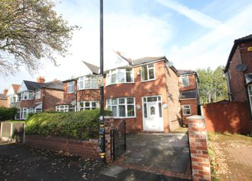 Thumbnail 4 bed semi-detached house for sale in Kings Road, Stretford, Manchester