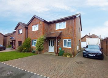 Thumbnail 4 bed detached house for sale in Knights Close, Warsash, Southampton