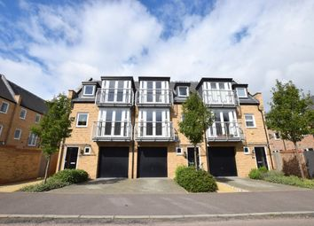 Thumbnail 4 bed town house to rent in Samuel Jones Crescent, Little Paxton, St. Neots