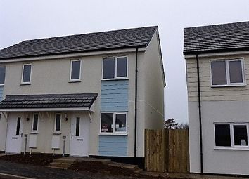 Thumbnail 2 bed semi-detached house to rent in Carvinack Meadows, Shortlanesend, Truro