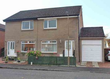 Thumbnail 2 bed semi-detached house for sale in Abbot Road, Stirling