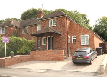 Thumbnail 4 bedroom semi-detached house for sale in Rowtown, Addlestone, Rowtown, Surrey