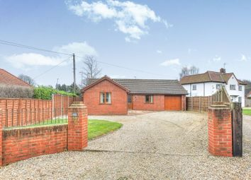 Thumbnail 3 bed detached bungalow for sale in Cherry Tree Lane, North Walsham