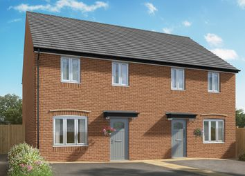 "Thumbnail 3 bed semi-detached house for sale in ""The Ailsworth"" at Hill Top Close, Market Harborough"