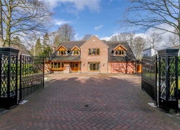 Thumbnail 5 bed detached house for sale in Claverdon Drive, Little Aston Park, Sutton Coldfield