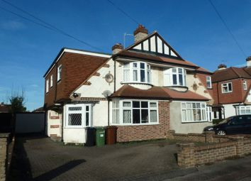 Thumbnail 4 bed semi-detached house for sale in Chadacre Road, Stoneleigh, Epsom