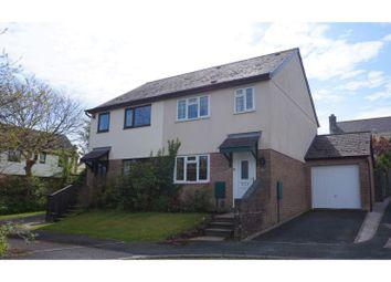 Thumbnail 3 bed semi-detached house for sale in Smithfield Drive, Saltash