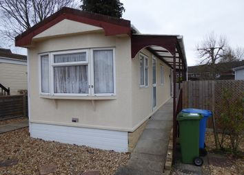 Thumbnail 2 bed mobile/park home for sale in Hill Corner Farm Park, Sandy Lane, Cove, Farnborough, Hampshire