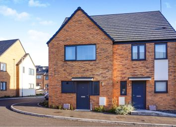 Thumbnail 2 bed semi-detached house for sale in Barley Close, Nottingham