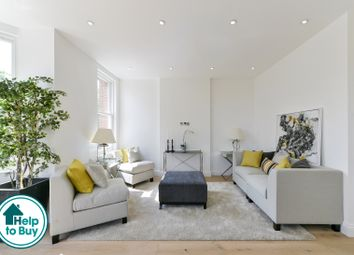 Thumbnail 2 bed flat for sale in Knight's Hill, London