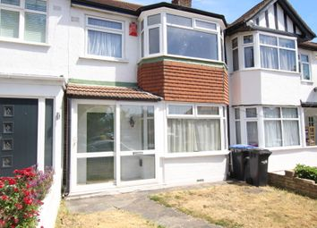 Thumbnail 3 bed terraced house for sale in The Fairway, Palmers Green