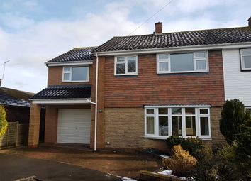 Thumbnail 4 bed semi-detached house to rent in Heather Close, Great Bridgeford, Stafford