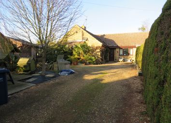 Thumbnail 3 bed bungalow for sale in Fallow Corner Drove, Manea, March