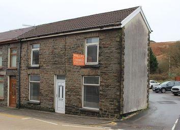 3 bed end terrace house for sale in High Street, Cymmer, Porth, Rhondda Cynon Taff. CF39