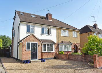 Thumbnail 4 bed semi-detached house for sale in Saffron Platt, Guildford