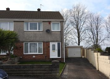 Thumbnail 3 bed semi-detached house for sale in Fairview Close, Llansamlet, Swansea