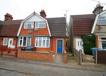 Thumbnail 3 bedroom end terrace house for sale in Rayleigh Road, Ipswich