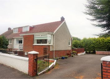 Thumbnail 3 bedroom semi-detached house for sale in Cumbernauld Road, Glasgow