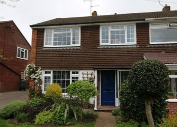 Thumbnail 3 bed semi-detached house for sale in Hilda Gardens, Denmead, Waterlooville, Hampshire