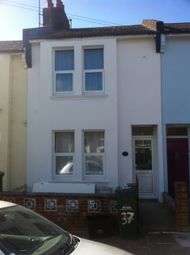 Thumbnail 3 bed terraced house to rent in Redvers Road, Brighton