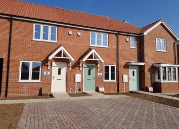 Thumbnail 2 bed terraced house for sale in Plot46, The Jade, De Montfort Park, Off Mill Road, Boston