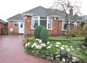 Thumbnail 2 bed detached bungalow for sale in School Lane, Wolvey, Hinckley
