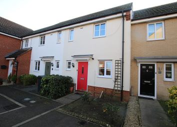 Thumbnail 2 bedroom terraced house for sale in Etive Close, Attleborough