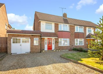 Thumbnail 3 bed semi-detached house for sale in Park Crescent, Elstree, Borehamwood