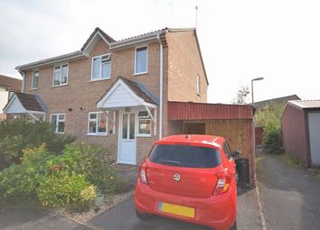 Thumbnail 2 bed semi-detached house for sale in Irene Way, Tiverton