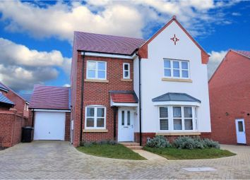Thumbnail 4 bed detached house for sale in Mackworth Avenue, Littleover, Derby
