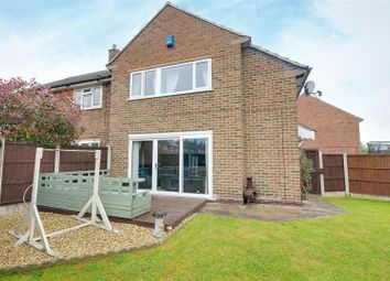 Thumbnail 3 bed semi-detached house for sale in Broom Close, Calverton, Nottingham