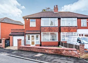 Thumbnail 3 bed semi-detached house for sale in Wilshaw Grove, Ashton-Under-Lyne, Greater Manchester