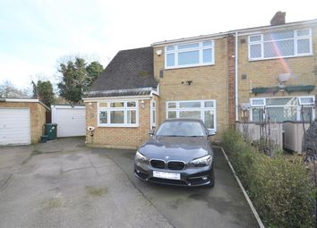 Deridene Close, Stanwell, Staines TW19. 4 bed semi-detached house for sale