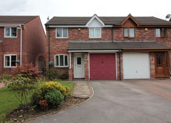 Thumbnail 3 bed semi-detached house for sale in Matthysens Way, St Mellons